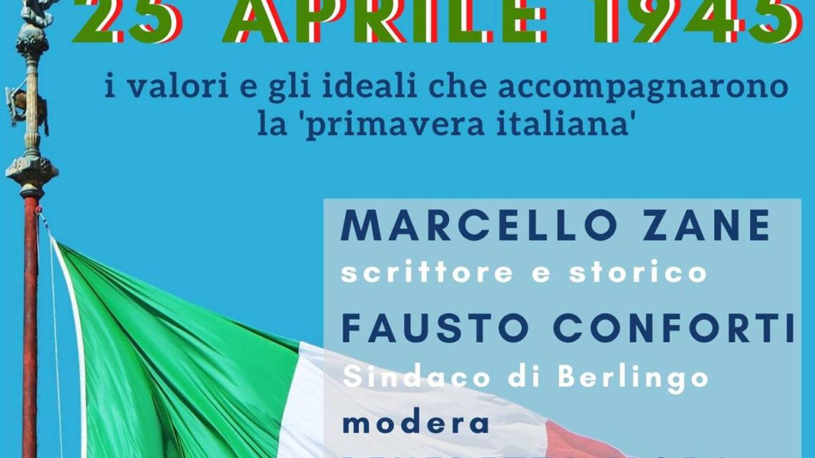 25 aprile 1945: Sacrificio, Libertà, Democrazia – Evento Online